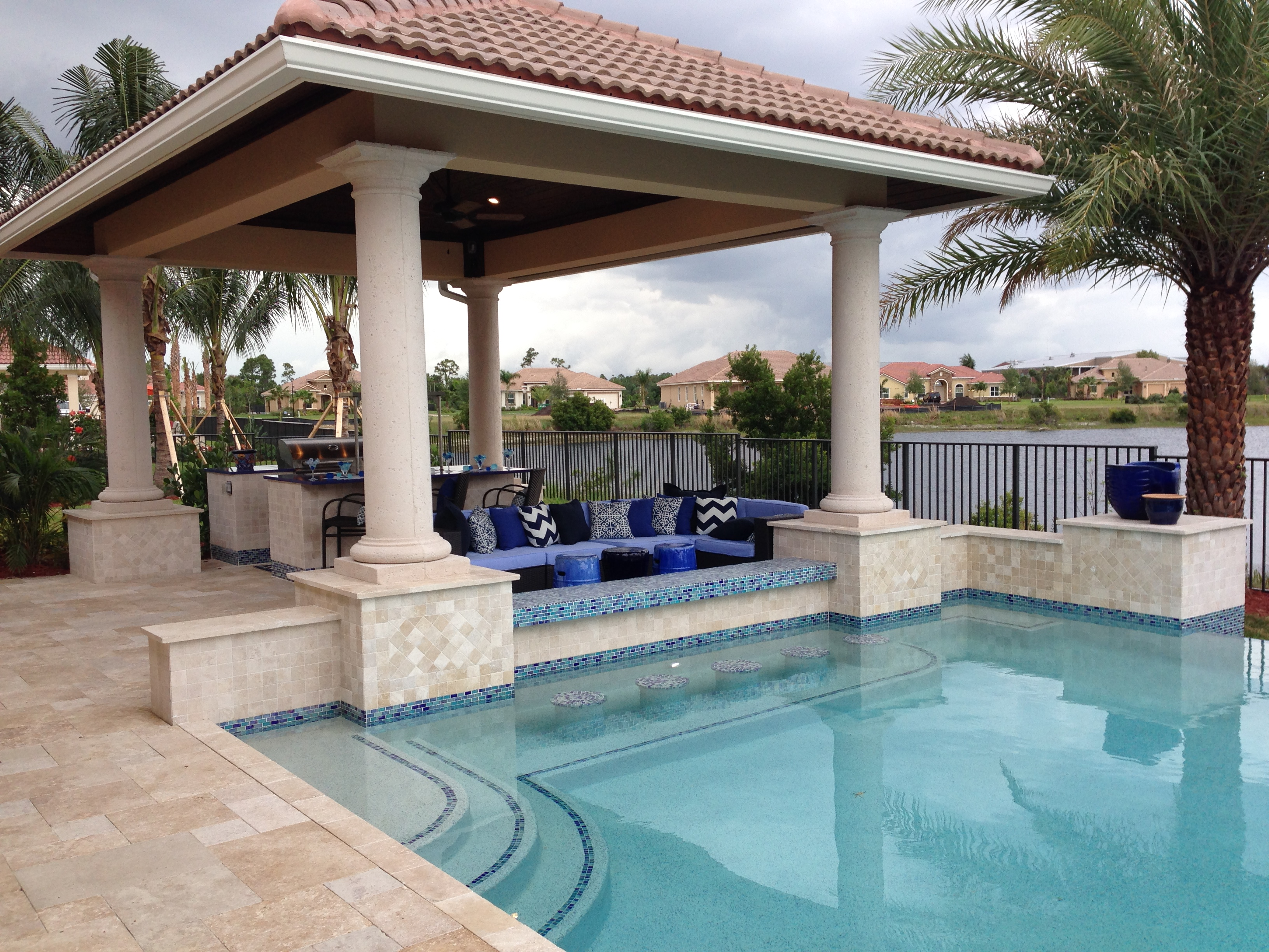 Residential Pool Construction : Residential pool construction in stuart fl a g